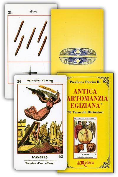 carte dell'antica cartomanzia Egiziana