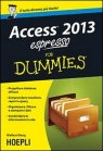 Access 2013 Espresso for Dummies Wallace Wang