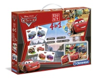 Edukit 4 in 1 - Cars 2