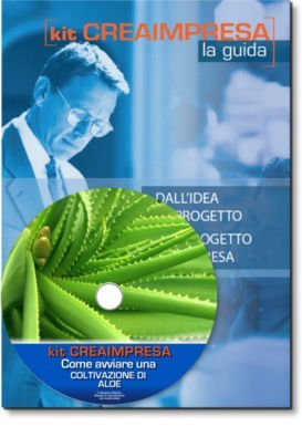 Come avviare una Coltivazione di Aloe - Libro + CD-rom