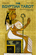 The Egyptian Tarot con Libro e Carte (in Lingua Inglese)