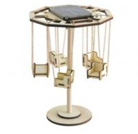 Giostra in legno a energia solare for Giostra a catene
