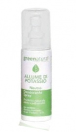 Deodorante Spray Greenatural all'Allume di Potassio - Neutro