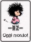 Mafalda - Oggi Mordo! - Calendario Perpetuo