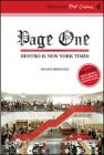 Page One. Dentro il New York Times - DVD Andrew Rossi