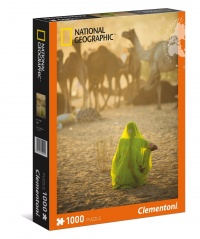 Puzzle - National Geographic Sari