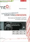 Something Unknown - Qualcosa di Sconosciuto - Documentario in DVD