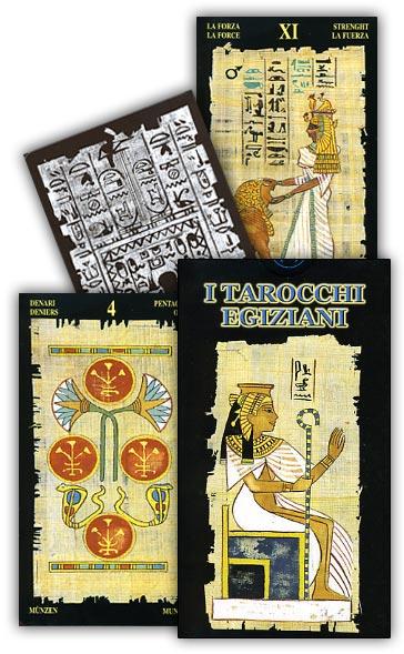 tarocchi egiziani su papiro