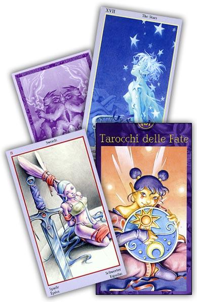 carte tarocchi delle fate