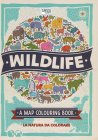 Wildlife a Map Colouring Book Natalie Hughes