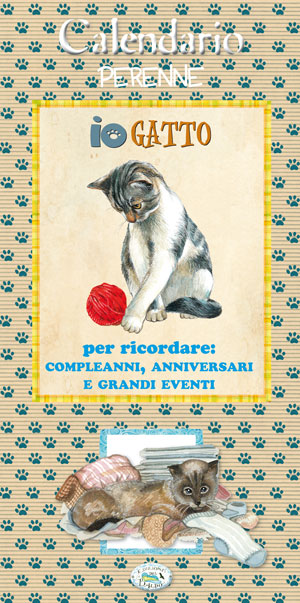 Calendario Perenne - Io Gatto