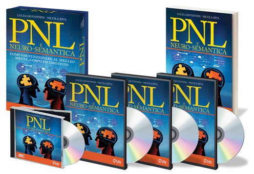 PNL e Neuro-Semantica - Corso Completo con 3 DVD, 1 Manuale e 1 CD Mp3