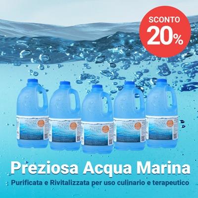 Sconto 20% - Preziosa Acqua Marina