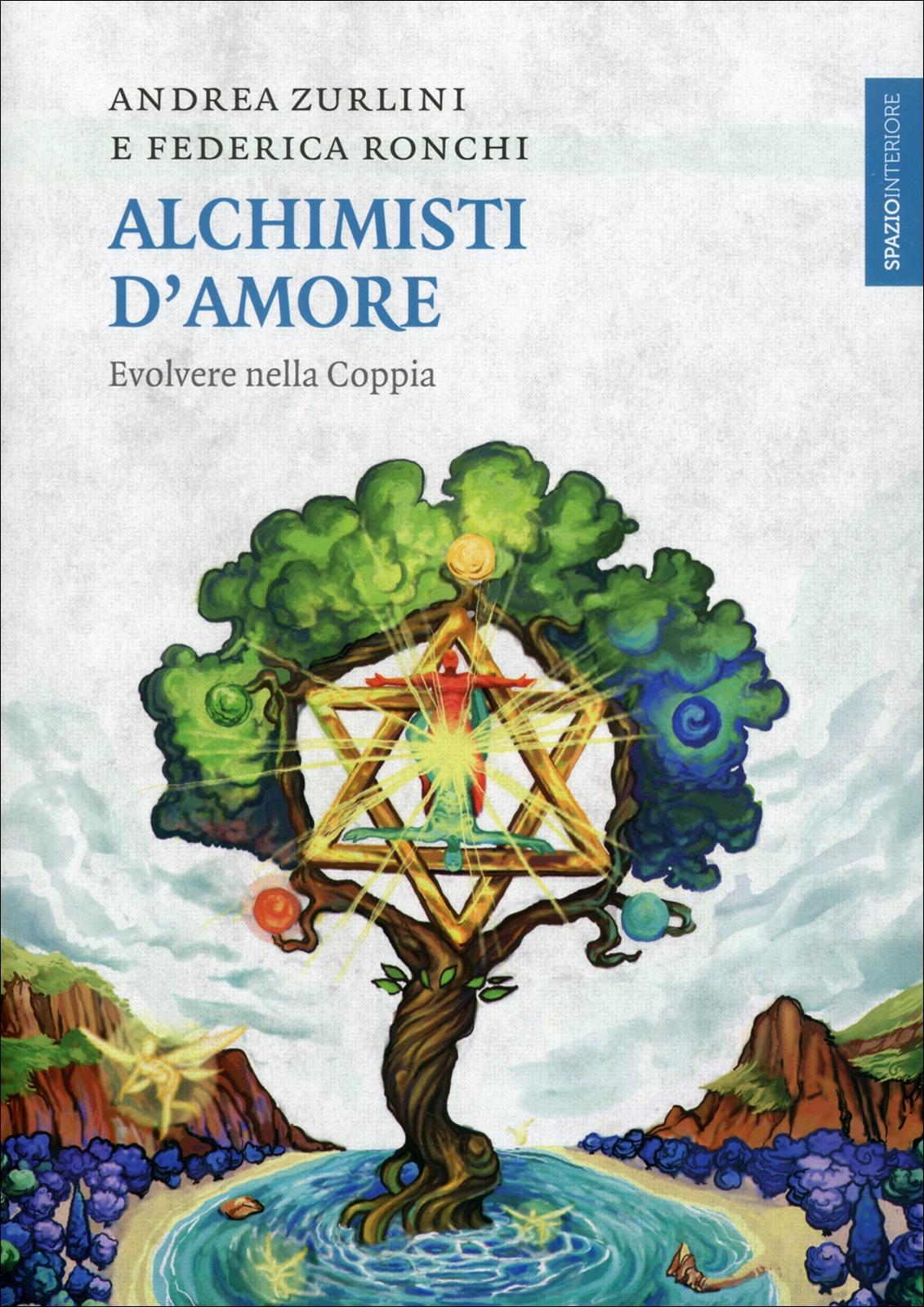 """Copertina del libro """"Alchimisti d'Amore"""""""