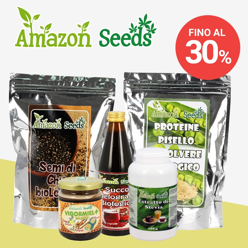 Sconto fino al 30% - Amazon Seeds