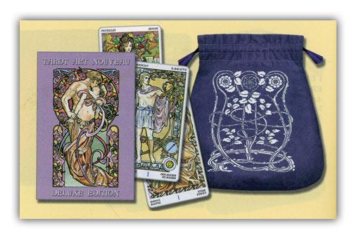 78 elegantissimi arcani con istruzioni divinatorie e la borsetta per