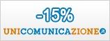 Sconto 15% Unicomunicazione