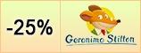 Sconto 25% Geronimo Stilton