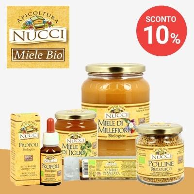 Sconto 10% - Nucci