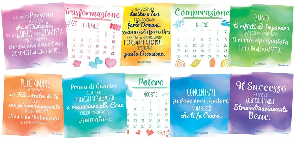Calendario per l'ispirazione
