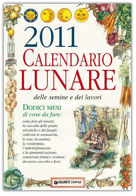 Ebook in internet articoli formativi calendario lunare - Calendario semina fiori ...