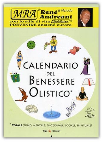Calendario Fisico.Calendario Del Benessere Olistico Rene Andreani