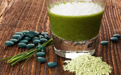Integratore a base di alga chlorella