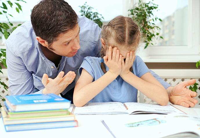 Compiti per casa: stress continuo