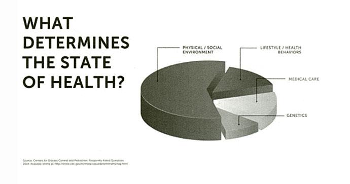 Cosa determina lo stato di salute