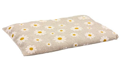 Cuscino con Noccioli di Ciliegio - Margherite