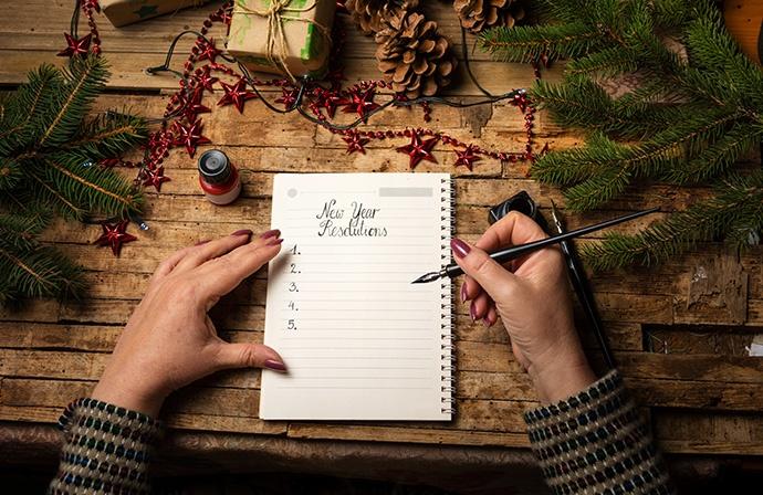 Diario della gratitudine annuale