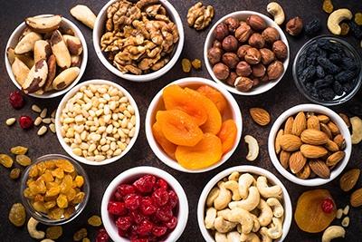 Frutta Secca, Essiccata e Disidratata