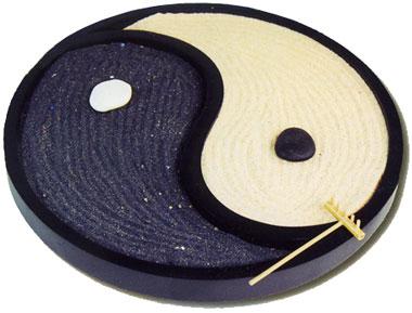 Giardino zen yin yang - Giardino zen in miniatura ...