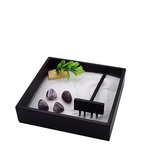 Mini Giardino Zen con Ametista
