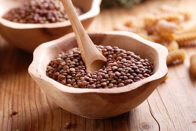 Insalata con lenticchie