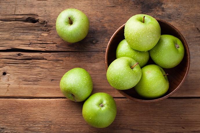 Insalata con mela verde