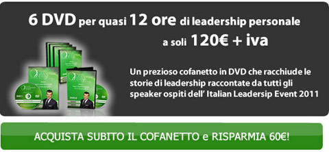 Italian Leadership Event DVD