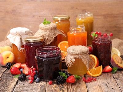 Conserve, marmellate e confetture biologiche