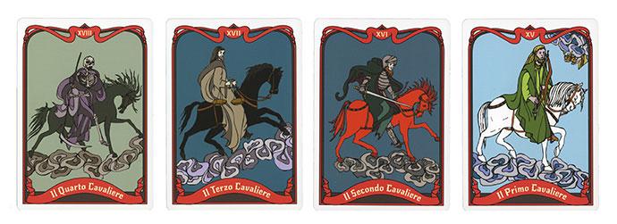 Oracolo dell'Apocalissse - Carte dei Cavalieri