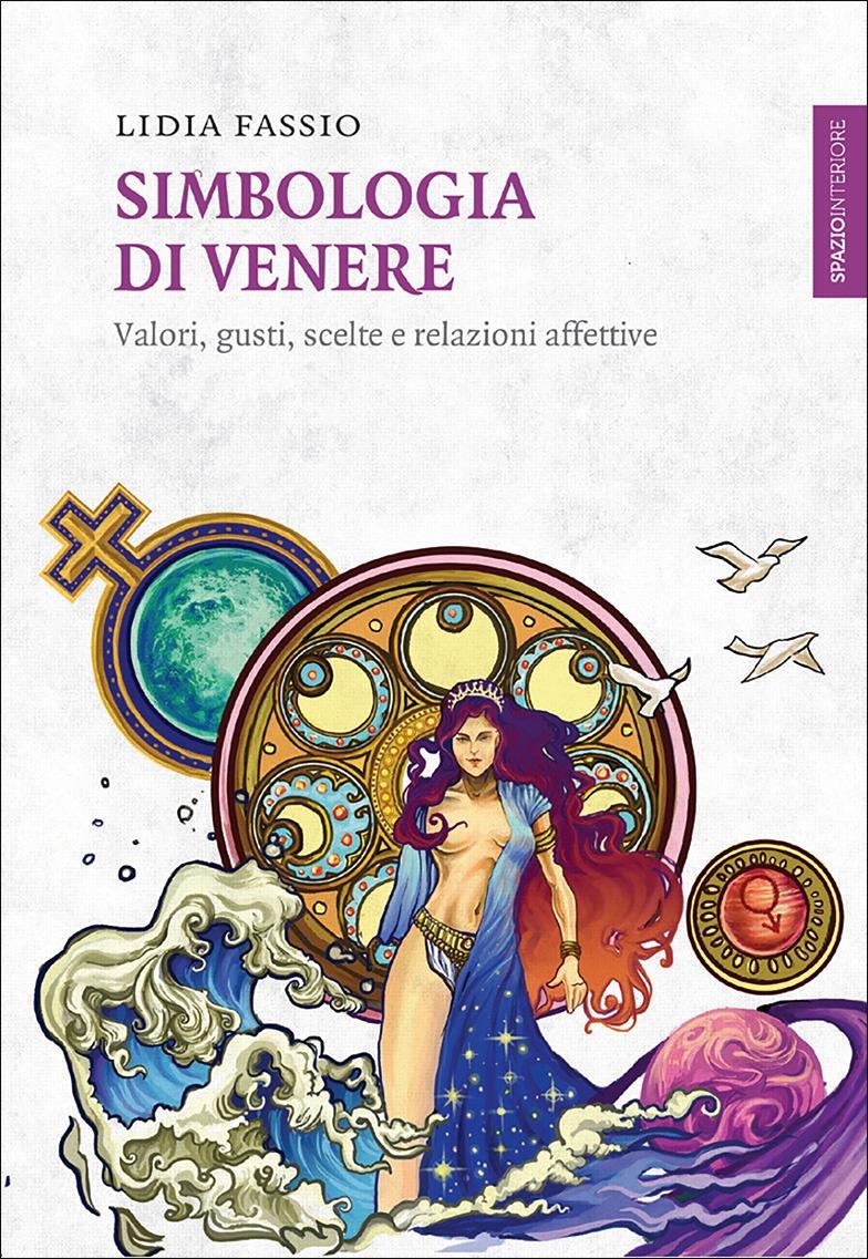 """Copertina del libro """"Simbologia di Venere"""""""