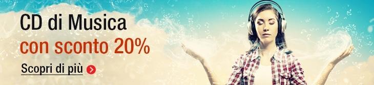 Scopri i Cd di Musica con Sconto 20%