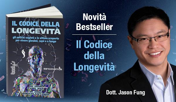 Novità Jason Fung - Il Codice della Longevità