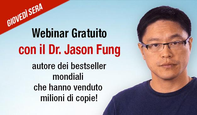 Invito al webinar con il Dr. Jason Fung