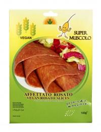 AFFETTATO ROSATO VEGAN Piatto completo a base di frumeno e legumi fonte di fibre vegetali - zero colesterolo