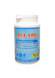 B12 - CIANOCOBALAMINA - 100 CAPSULE Integratore alimentare a base di vitamina B12