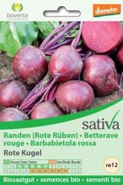 """BARBABIETOLA ROSSA """"ROTE KUGEL"""" - RA12 Sementi biologiche e biodinamiche - Varietà riproducibili, non ibride, non OGM"""