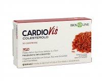 CARDIOVIS - COLESTEROLO Integratore alimentare con Eidrosol, Riso rosso fermentato e Ipomea batatas.