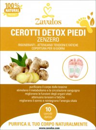 CEROTTI DETOX PIEDI Aiutano il benessere e favoriscono il metabolismo