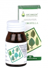 CLOROFILLA - INTEGRATORE ALIMENTARE Integratore alimentare a base di ortica e clorofilla