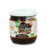 CREMA DI NOCCIOLA E CARRUBA - NUTS & BIO Crema spalmabile, senza olio di palma